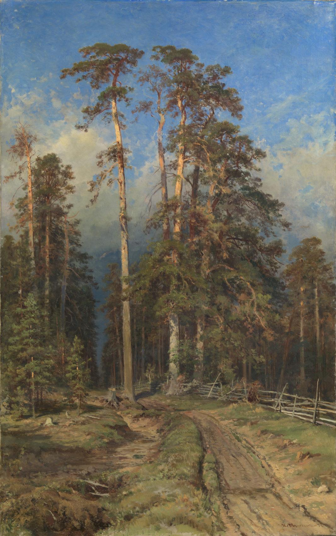 Lot 11. Ivan Shishkin, Pine Forest. Yelabuga, 1897. 800,000-1,200,000 GBP